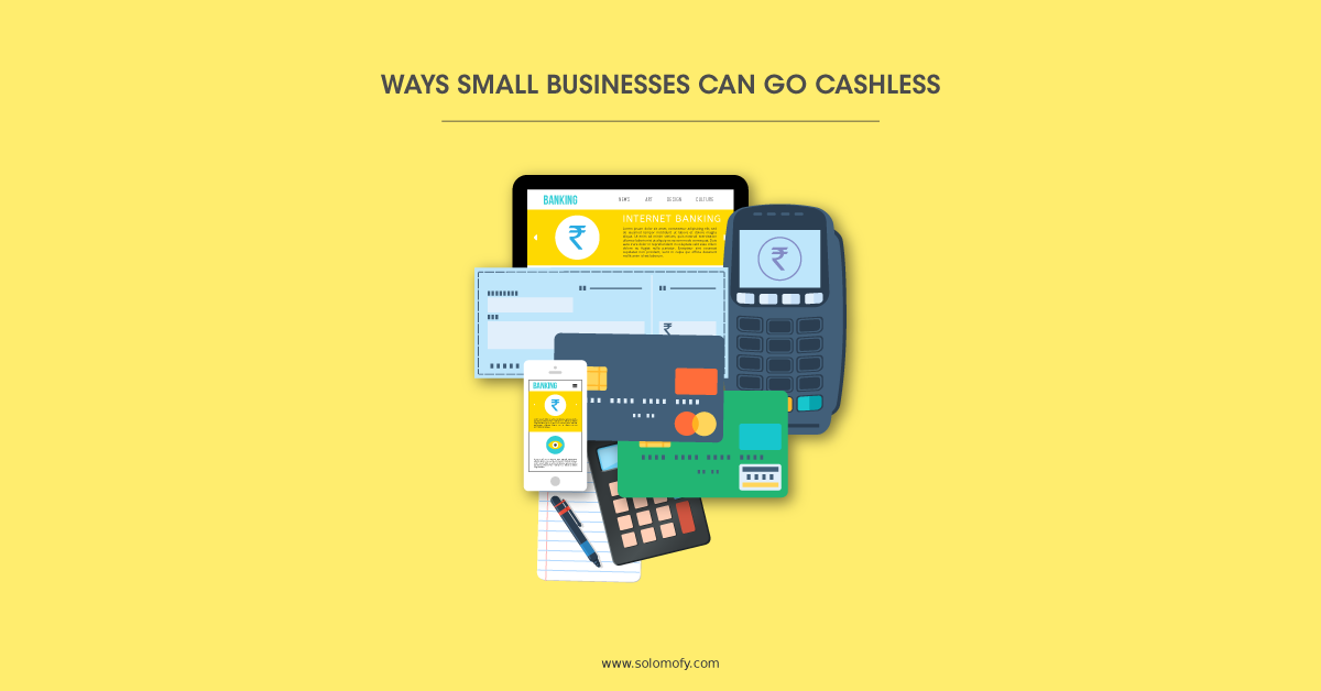 Small Business can go cashless