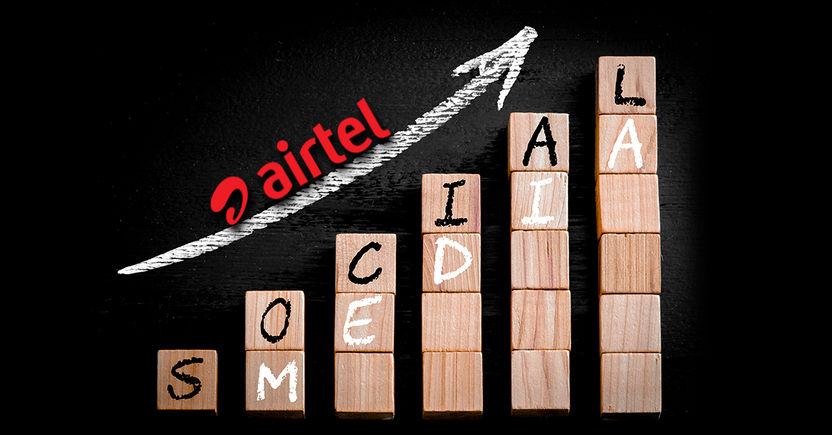airtel leveraged social media for customer relationship