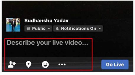 facebook live step 4