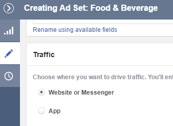 facebook messenger ad traffic
